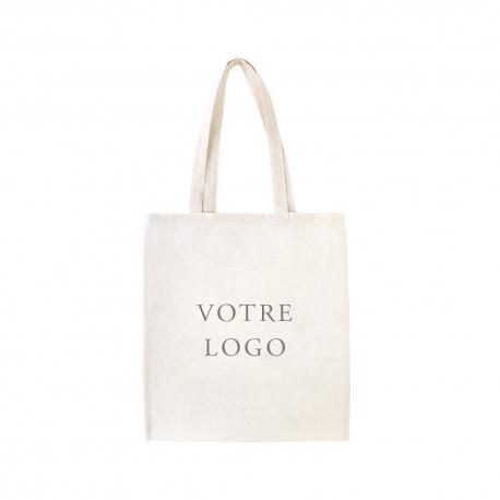 Tote bag sur-mesure en coton avec votre logo
