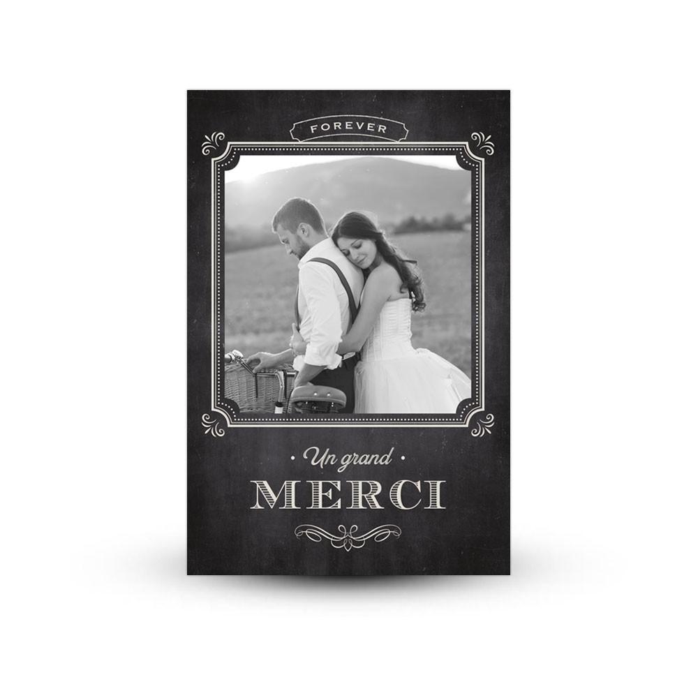 Favori Carte de remerciement mariage - Print Your Love - Print Your Love EU49