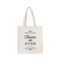 Tote bag Forever