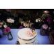 Gâteau d'anniversaire / baptême cake topper en bois