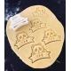 Biscuits personnalisés emporte-pièce panda anniversaire