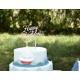 Gâteau d'anniversaire enfant cake topper personnalisé prénom