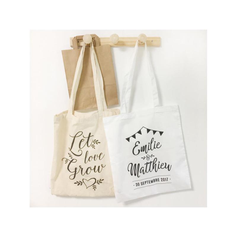 Connu Tote bag personnalisé guinguette - Cadeau EVJF ou cadeaux d'invités AH71