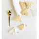 Anniversaire thème tipi biscuits personnalisés emporte-pièce