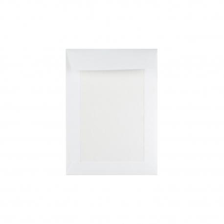 Enveloppe blanche dos cartonné pour faire-part