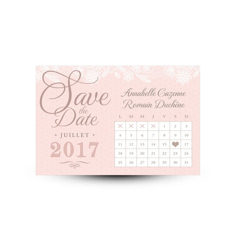 save the date r tro pour mariage shabby chic avec. Black Bedroom Furniture Sets. Home Design Ideas
