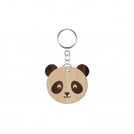 porte cl s panda personnalisable bapt me offrir print your love. Black Bedroom Furniture Sets. Home Design Ideas