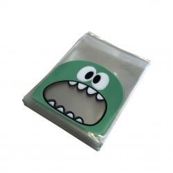 Sachet confiserie petit monstre vert