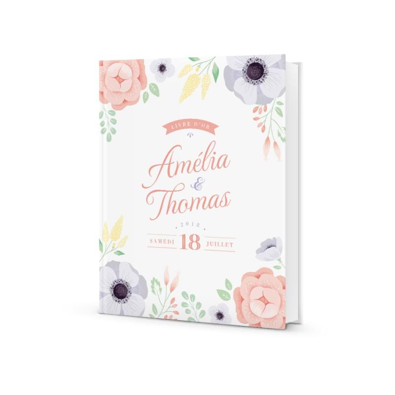livre d u0026 39 or personnalis u00e9 pour mariage bucolique
