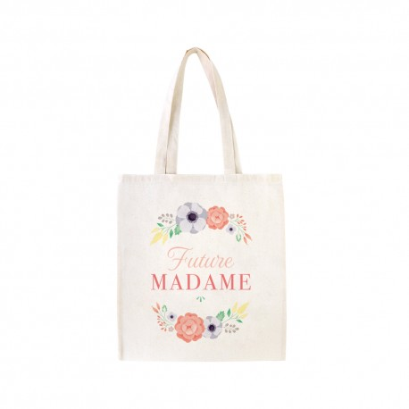 Tote bag Future Madame cadeau future mariée EVJF