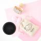 Naissance : tampon encreur personnalisé pour personnaliser pochons en lin