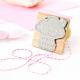 Tampon naissance personnalisable avec prénom et date modèle nuage