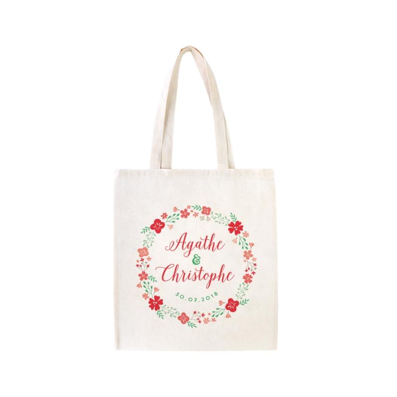 Connu Tote bag personnalisé champêtre - Cadeau EVJF ou cadeaux d'invités AH71