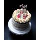 Cake topper décoration de gâteau en bois Hinalys