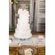 Figurine de gâteau en bois mariage Mr Mrs calligraphie