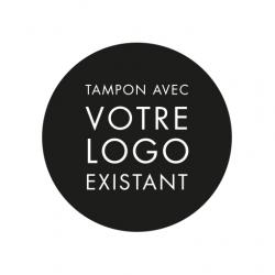 Tampon encreur avec votre logo existant mariage baptême entreprise