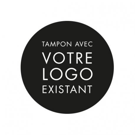 fabrication d 39 un tampon encreur partir de votre logo existant. Black Bedroom Furniture Sets. Home Design Ideas