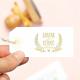 Tampon lavande vintage à personnaliser prénoms et date mariage