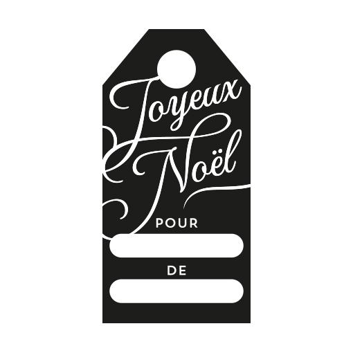 Fabulous Tampon étiquette de Noël, réalisez vos étiquettes cadeaux maison ! LJ74