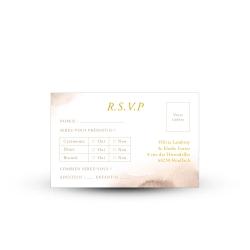 Carte réponse RSVP