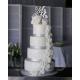 Wedding cake pièce montée mariage cake topper Mr & Mrs plexiglas argent