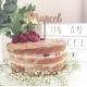 Cake topper personnalisé prénom enfant gâteau anniversaire