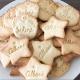 Biscuits personnalisés anniversaire ou baptême thème champêtre