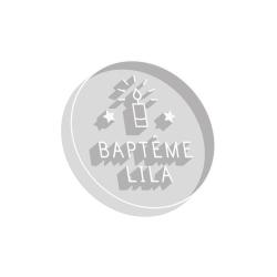 Emporte pièce personnalisé baptême bougie