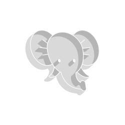 Emporte-pièce original tête d'éléphant anniversaire