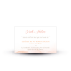 Carton invitation repas mariage Arche Florale