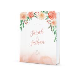 Livre d'or Arche Florale