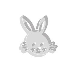 Emporte-pièce tête de lapin
