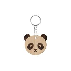 Porte-clé personnalisable tête de panda