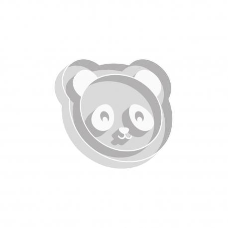 Emporte-pièce tête de panda anniversaire à thème