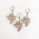 Porte-clés baptême personnalisé modèle colombe