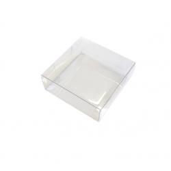 Boîte transparente carrée