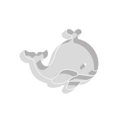 Emporte-pièce baleine pour sablés originaux anniversaire baptême