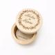 Boite porte alliances personnalisée en bois mariage champêtre