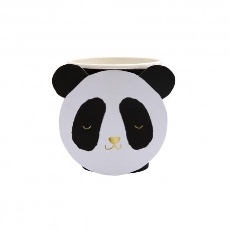 Gobelet en carton panda anniversaire ou baptême