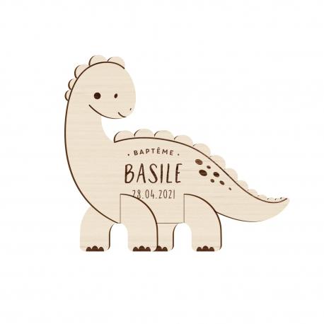Dinosaures Mignon Rose Personnalisé Fête Invitations Avec Enveloppes