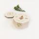 Boîte à alliances en bois personnalisée mariage forêt