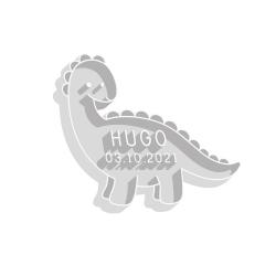 Emporte-pièce personnalisé anniversaire dinosaure