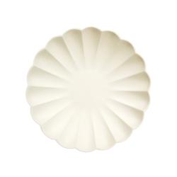Assiette coquillage anniversaire thème marin ou sirène