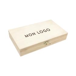 Coffret personnalisé en bois pour photographe