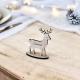 Marque-place de Noël originaux et personnalisés Renne