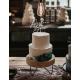 Cake topper personnalisé mariage plexiglas opale blanc