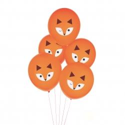 Ballon de baudruche imprimé renard