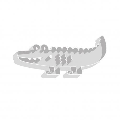 Emporte-pièce en forme de crocodile thème jungle