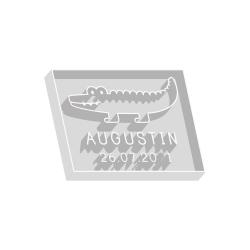 Emporte-pièce personnalisé crocodile anniversaire thème jungle