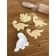 Anniversaire thème dinosaure emporte-pièce à biscuits